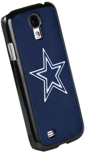 Forever Collectibles Dallas Cowboys Team Logo (Black Borders) Hard Snap-On Samsung Galaxy S4 Case