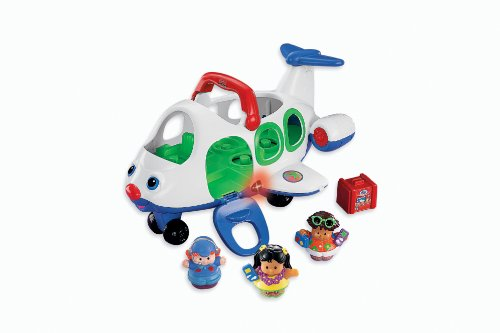 Fisher-Price Little People Lil' Movers Airplane front-11673