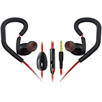 [Three Days OFF]Sound Intone K6 2015 New Sport Noise Isolating In-ear Headphones with Microphone Earphones, Volume Control, Study Cable, Compatible with PC/ Smart Phone/ iPhone6/ Ipad/ Samsung/ Psp/ Ipod/ HTC/ Blackberry /Android