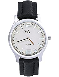 Watch Me Black Genuine Leather Analogue Watch For Men WMAL-019