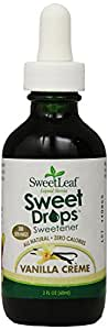 Sweet Leaf Vanilla Creme Flavored Liquid Stevia, 2 oz
