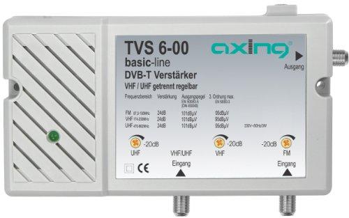 Axing TVS 6-00 amplificateur multibande terrestre pour TNT et FM