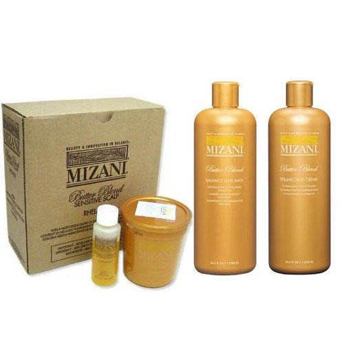 Mizani SET (w/Lip Gloss) Butter Blend Relaxer
