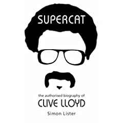 Photo of the front cover of Supercat, Clive Lloyd's biography