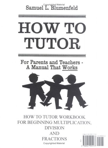 How To Tutor Multiplication, Division, Fractions Workbook