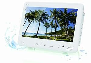 AIVN 10インチ 録音機能搭載 フルセグ 防水ポータブルDVDプレーヤー/RV-101FSWP