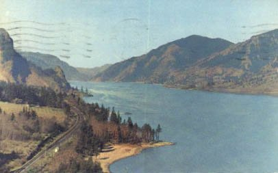 Hood River, Oregon Postcard