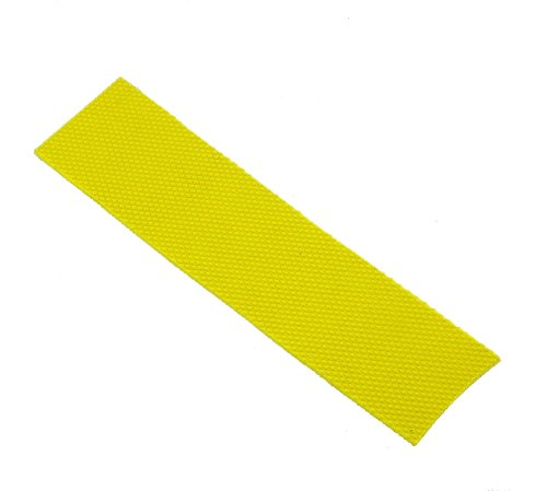 Upfront Qvu Replacement Cricket Bat Toe Guard - Yellow