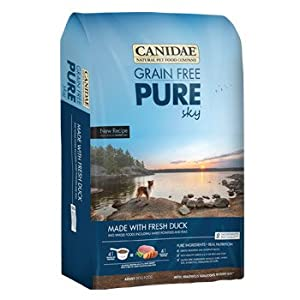 CANIDAE Grain Free Pure Sky with Fresh Duck for Dogs