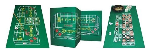 Why Should You Buy Craps & Roulette 2-Sided Casino Felt Layout