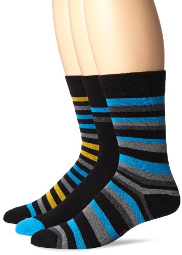 Ben Sherman Men's 3 Pack Winston Pattern Socks