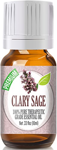 Clary Sage 100% Pure, Best Therapeutic Grade Essential Oil - 10ml muslim healing