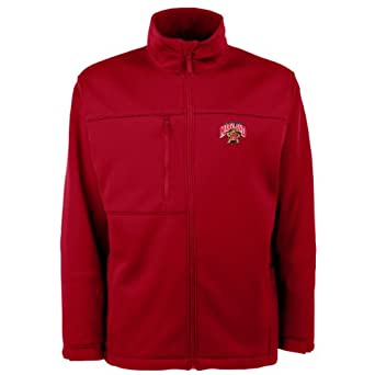 NCAA Maryland Terrapins Traverse Jacket Mens by Antigua