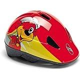 Puky PH 1 Kinder Fahrrad Helm rot/gelb