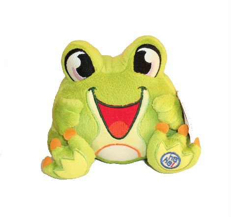 Laugh PackTM Joke-Telling Plush Frog - 1