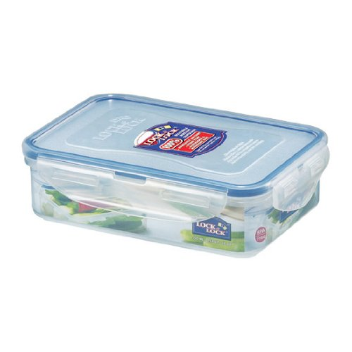 Lock&Lock 19-Fluid Ounce Rectangular Food Container, Short, 2.3-Cup