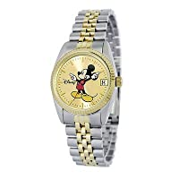 Disney Women's MM0061 Two-Tone Mickey Mouse Watch with Date Movement from eWatchFactory