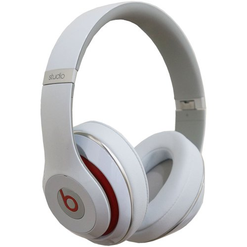 Shop Brand New Beats By Dre Studio High Definition Noise Canceling Headphones - New Version (White)