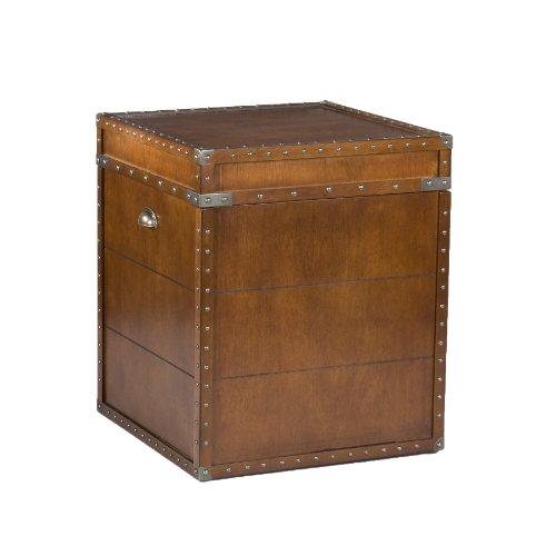 Cheap Southern Enterprises Steamer Trunk End Table (OC4190)