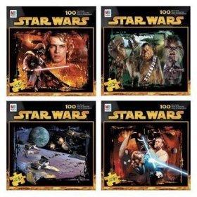 Cheap Milton Bradley Star Wars 100 Piece Puzzle (B0006Q56AW)