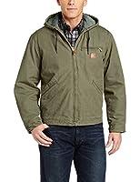 Carhartt Men's  Sierra Jacket Sherpa Lined Sandstone