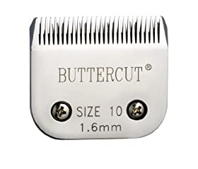 Geib Buttercut Stainless Steel Dog Clipper Blade, Size-10, 1/16-Inch Cut Length