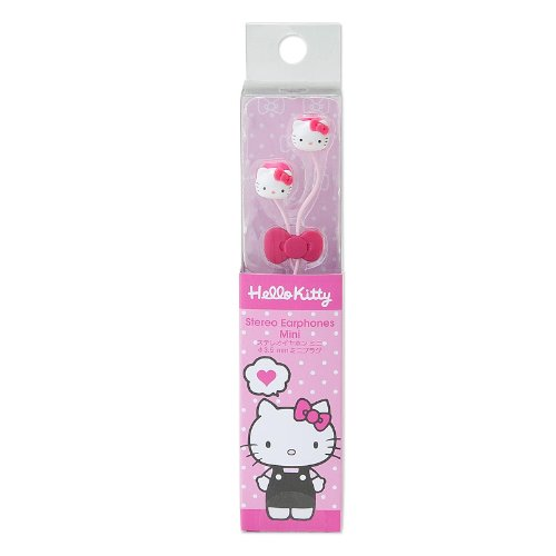 Hello Kitty Mascot Earphone (Japan Import)