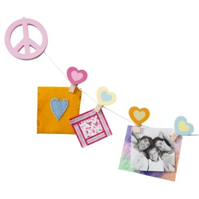 Circo® Peace Girl Collection Art Clip - 1
