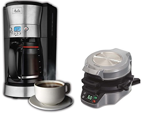 Melitta 12-Cup Coffee Maker with Breakfast Burrito Maker Bundle | 46893 + 25495 (Coffee Maker Melitta 46893 compare prices)