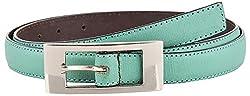 Midas Women's Belt (H605_32 , Green)