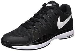 Nike Mens Zoom Vapor 9.5 Tour Tennis Shoes Black/Anthracite/White 631458-011 Size 9.5