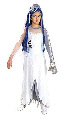 Corpse Bride Child Costume - Medium (8-10) (The Corpse Bride Emily)