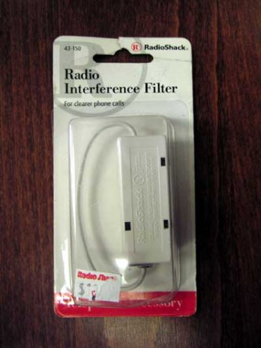 Radio Interference Telephone Line Filter 43-150