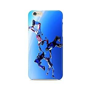 Motivatebox - Apple Iphone 6/6s Back Cover - WindGliding Friends Polycarbonate 3D Hard case protective back cover. Premium Quality designer Printed 3D Matte finish hard case back cover.