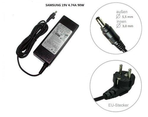 90W Netzteil für SAMSUNG R40 R70 R410 R505 R509 R522 R610 Samsung Serie 7 700Z 700Z3C 700Z3CH 700Z5A 700Z5AH 700Z5AI 700Z5B 700Z5C 700Z5CH 700Z7C 700Z7CH Chronos Notebook Ladegerät Laptop Ladekabel / Ladegerät Netzteil von Kabel fuer alle ®