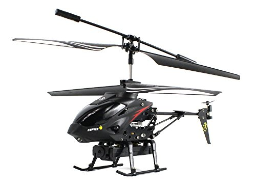 Camstryker S977 Spy Electric Rc Helicopter Gyro 3.5Ch Camera Rtf, Shoot Video, Comes W/ 512Mb Micro Sd Card & Usb Adapter
