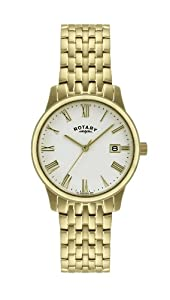 Rotary Men's Gold Plated Quartz Watch GB00794/32