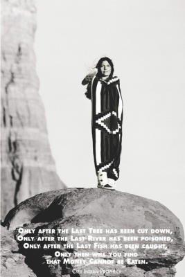 24x36 Native American Indian Saying Money Cannot Be Eaten Art Poster PrintB0000VG6YI