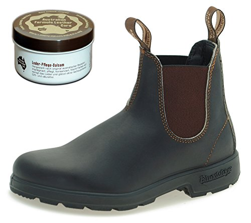 blundstone-style-500-classic-chelsea-boots-unisex-stiefelette-250-ml-lederpflege-stout-brown-uk-75-e
