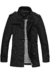 WantDo Men's Fashion Cotton Jacket Coat