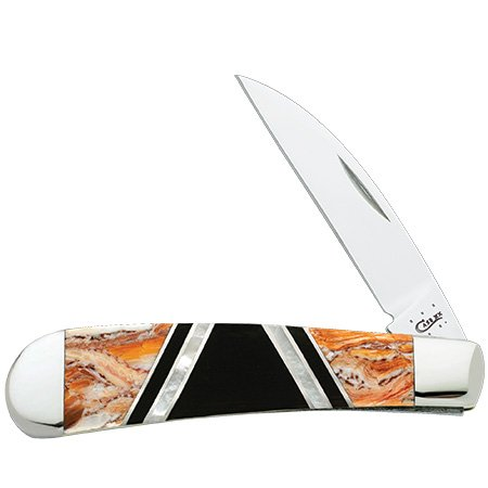 Case Xx Knife Item # 11090 Lion'S Paw Exotic Swayback Gent
