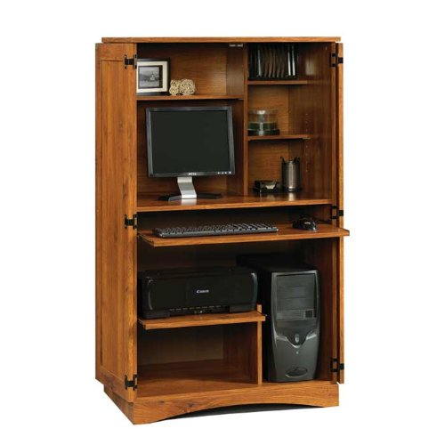 Buy Low Price Comfortable Harvest Mill Computer Armoire (B005409BYW)