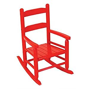 Amazon.com: Red KidKraft 2-Slat Rocking Chair toy gift idea birthday ...