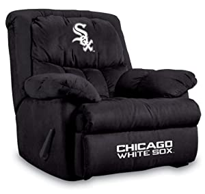 MLB Chicago White Sox Home Team Microfiber Recliner by Imperial
