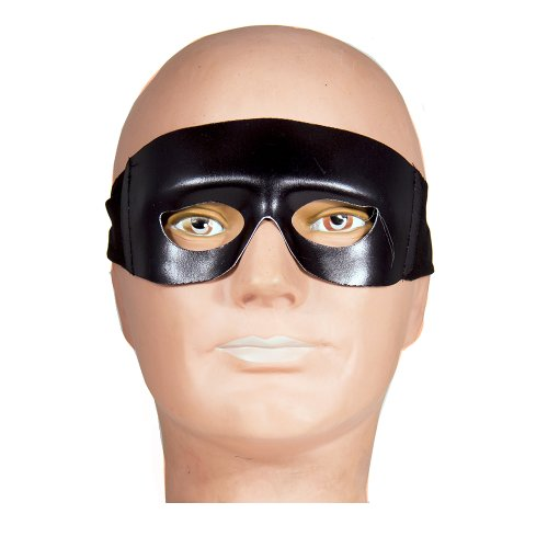 HMS The Western Ranger Eye Mask, Black, One Size - 1
