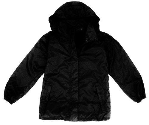 Mens XXL Black Waterproof, Windproof, Breathable Jacket