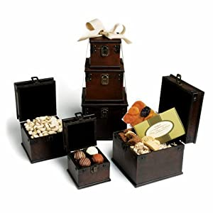 Torn Ranch Leather Box Suite Gift Basket