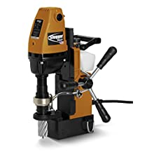 "Jancy USA-101 Portable Magnetic-Base Drill, 120V, 11.5 Amp Motor, 1-1/2"" Diameter x 2"" Depth Capacity"
