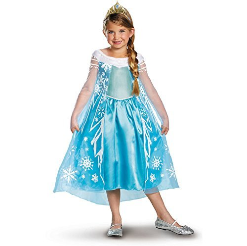 Disney's Frozen Elsa Girl's Deluxe Costume by Disguise