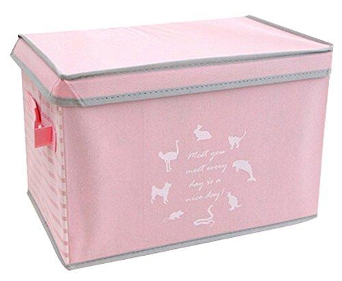 Nonwovens boîte de rangement boîte à gants Boîte à Princess Box-Rose
